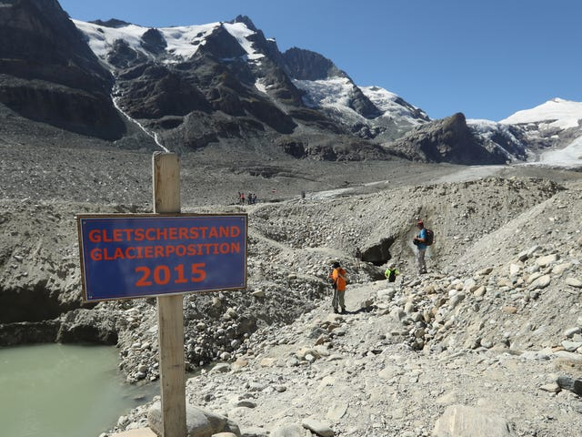 The Alps Are on Track to Lose at Least Half Their Glacier Ice This Century