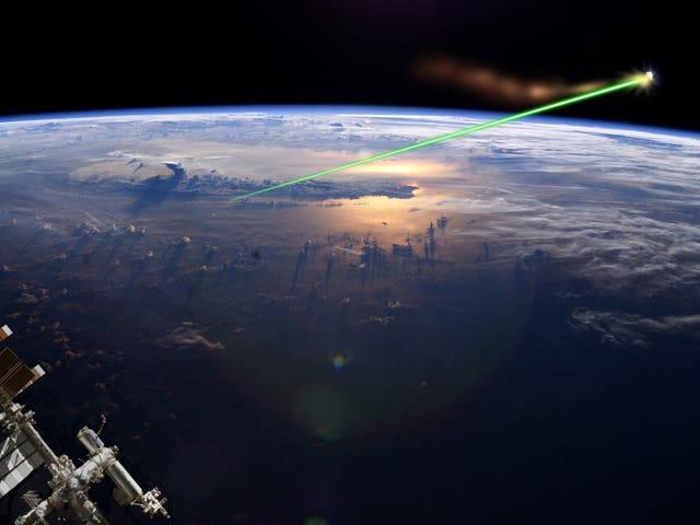 Is China Really Planning to Destroy Space Junk With Lasers?