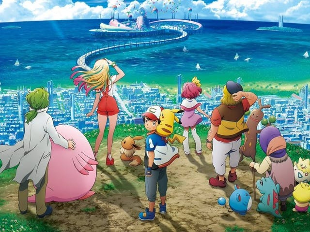 Enjoy the new trailer for the upcoming Pokémon Movie