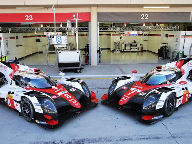 Here Are All Of The 2018 LMP1 Competitors