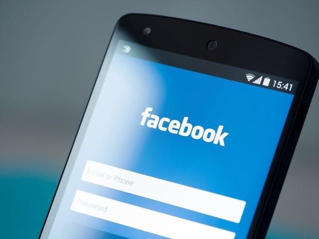Facebook är inte en plan för att du inte kan avinstallera Google, men även om de flesta kanorierna (Android)