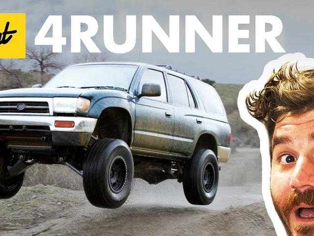A history of the 4runner