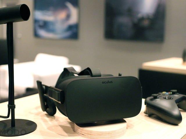 Ho usato l'Oculus Rift finale.  Qui i giochi valgono la pena.