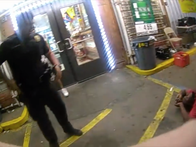 Cop Who Killed Alton Sterling Caught on Video Slapping Handcuffed Man: Report