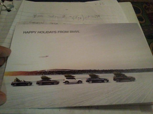 BMW de NA m'a envoyé une chose