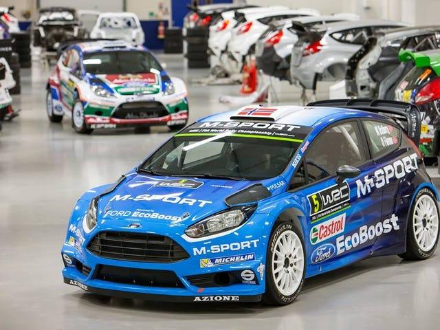 M-Sport enthüllte die 2016-Version ihres Ford Fiesta RS WRC heute mit einer neuen Lackierung