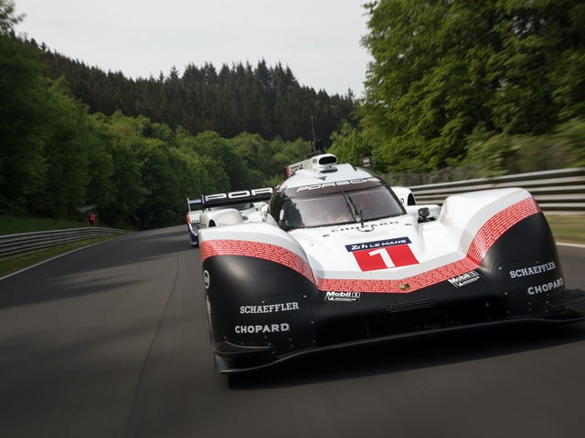 Porsche's Unrestricted Le Mans Car Beat A 35-Year-Old Nürburgring Lap Record By Nearly A Minute