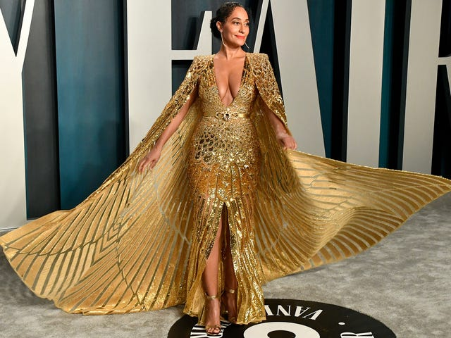 The Stars Wore Gold and Silver at Vanity Fair's Annual Oscars Party