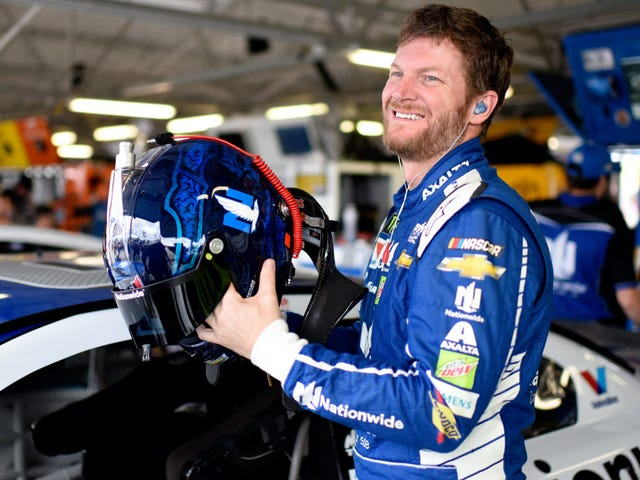 Dale Earnhardt Jr. Had At Least 20 Concussions That He Mostly Kept Quiet So He Wouldn't Lose His Job