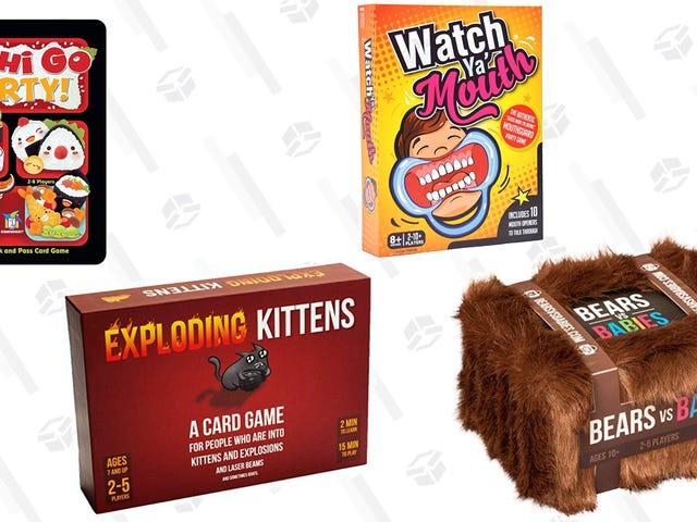 Dapatkan Kucing Meletup, Sushi Go Parti !, dan Lebih Lagi Semasa Jualan Box Gold Game Board ini