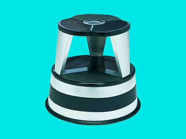Parents, Get a Library Stool for Your Kitchen
