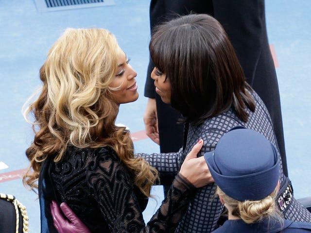 Beyoncé och Michelle Obama är berusade i kärlek