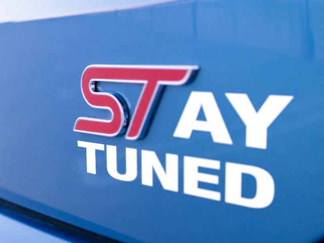 Ford Is Bringing A Mysterious New ST Car (Or SUV?) To Detroit
