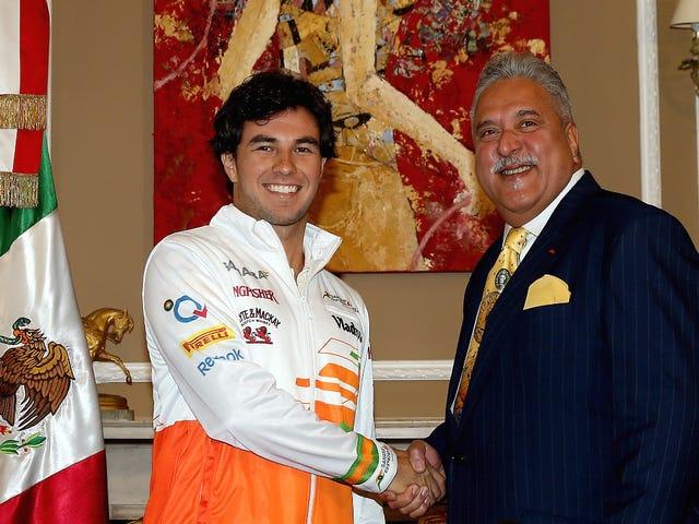 Force India F1 -joukkueen päämies kieltää pakenevan Intiasta yli 1,34 miljardin dollarin velan