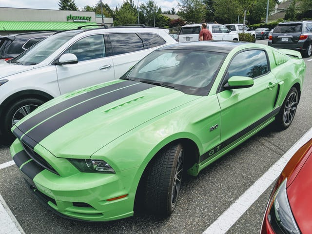 Paging CB - Found a Mustang for you.