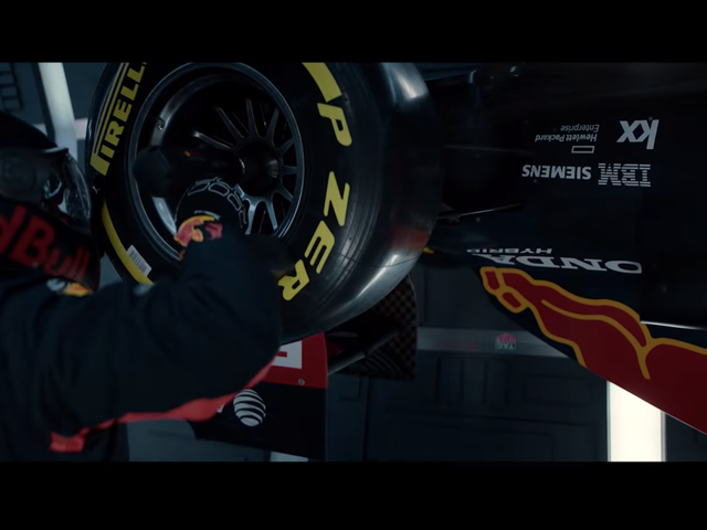 Watch The First-Ever Formula One Pit Stop In Zero Gravity