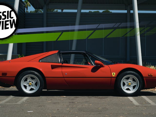 A Ferrari 308 GTSi Is Terrible To Drive Today But That Doesn't Matter