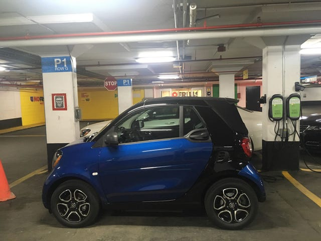 I have an electric Smart Cabrio for a week