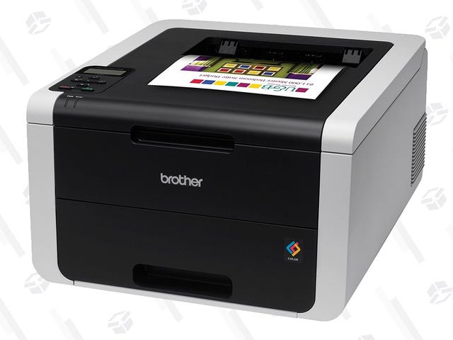 Kiss That Inkjet Goodbye With a $150 Full-Color Laser Printer