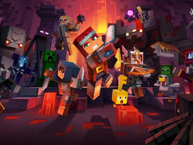 Minecraft Dungeons uscirà il 26 maggio su Xbox One, PS4, Switch e PC