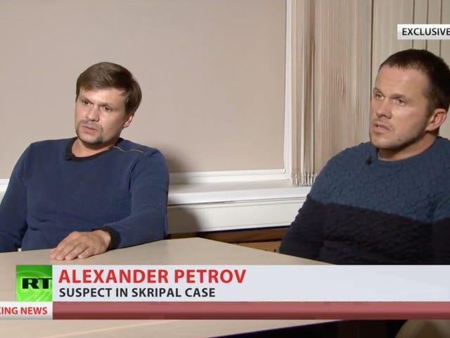 Penyimpang Racun Rusia Mengatakan Mereka Pengusaha Gizi Olahraga, Harapan 'Pelaku Sejati' Tertangkap [Diperbarui]