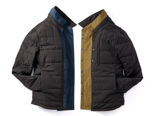 Get 25% Off These Lightweight Insulated and Reversible Shirt Jackets From Proof ($93)