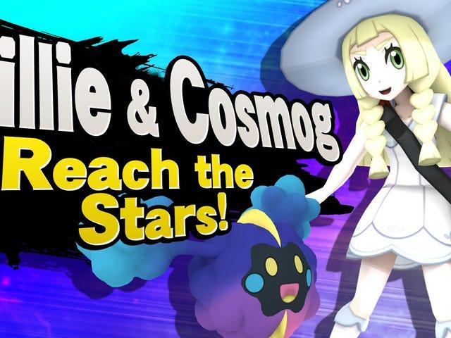 <i>Smash Bros.</i> मॉड मोद प्लेबल <em>Pokémon Sun</em> एंड <em>Moon</em> कैरेक्टर्स