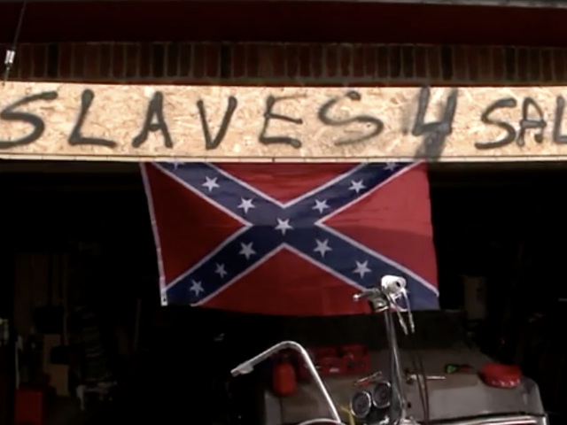 Mo. Man, Tired of Being Called Racist for Flying a Confederate Flag, Puts Up 'Slaves 4 Sale' Sign in Retaliation Because That Makes Complete Sense