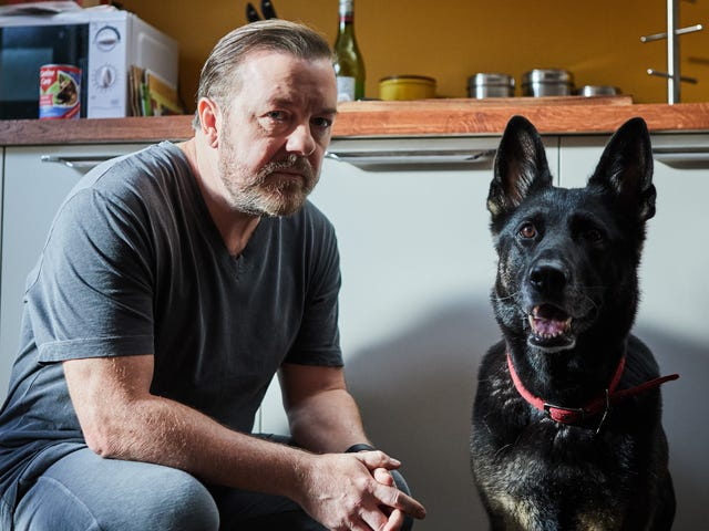 Netflix renews Ricky Gervais' After Life, of all things, for a second season