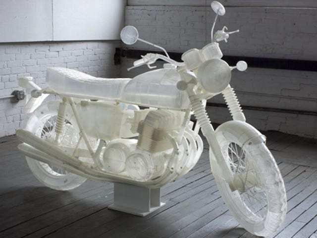 ​How To 3D-Print A 1972 Honda CB500 In A Billion Easy Steps