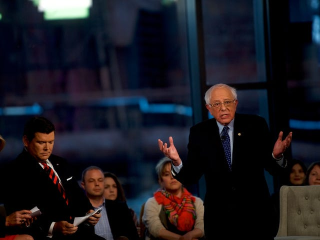 Trump's Still Big Mad That Fox News, His Personal YouTube Channel, Had a Bernie Sanders Town Hall