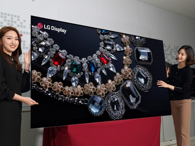 I Really Want to See LG's New 8K OLED TV in Person