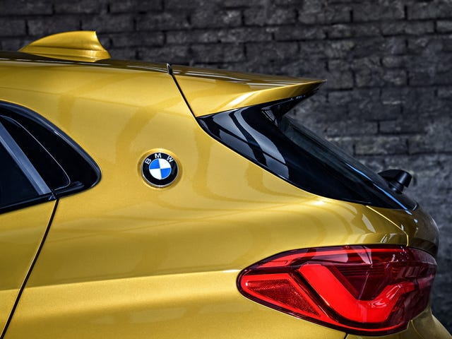 The 2018 BMW X2 Has The Most Honest Car Design Of 2018