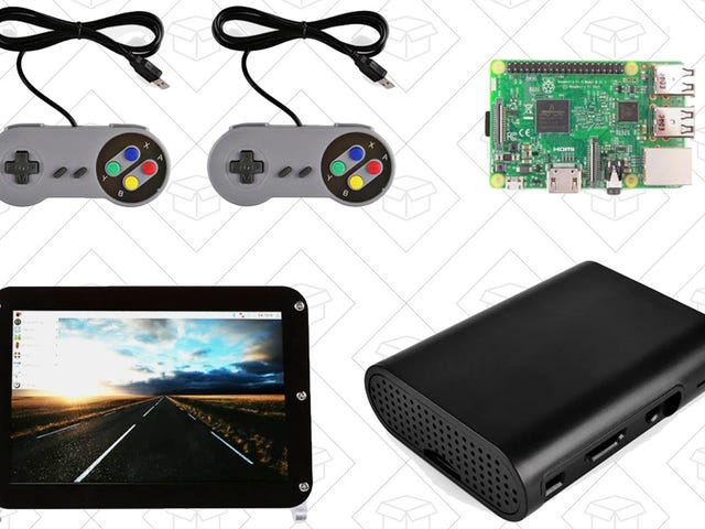 Build Your Own Mini Game Console (or Just About Anything Else) With This Loaded Raspberry Pi Bundle