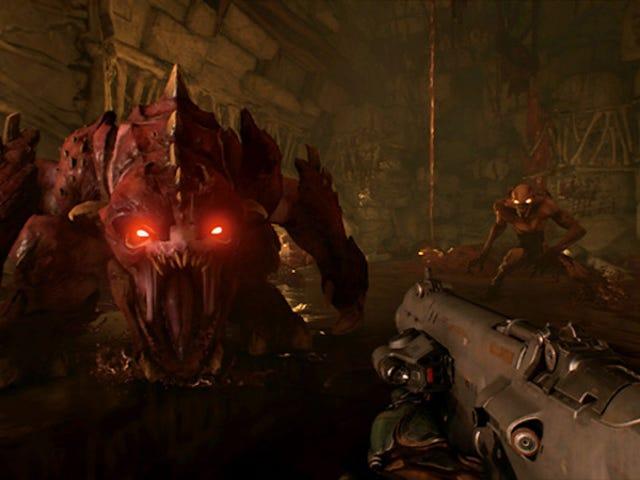 それは<i>Doom</i>がスイッチで実行することができることは驚くべきことです