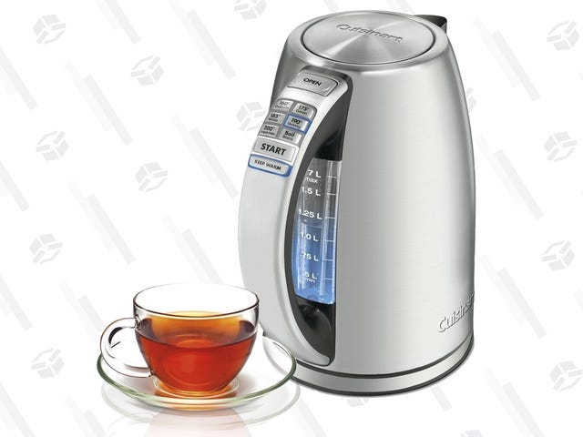 The Ultimate Electric Kettle Is Back On Sale