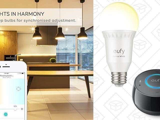 Here's Your First Chance to Save On Anker's New Smart Bulbs, Plus an Exclusive Eufy Genie Discount