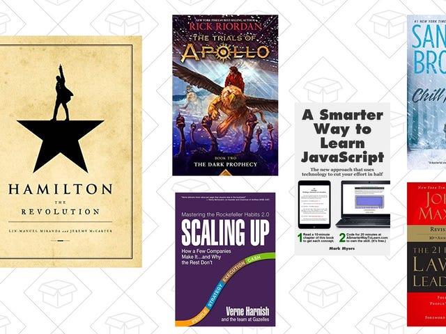 Fill Up Your Kindle For Your Holiday Travels With These Books, All Under $5