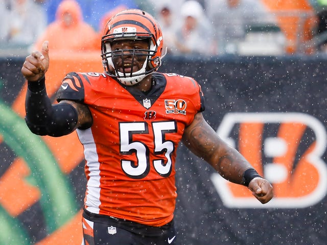 Vontaze Burfict Earns Suspension Without Hurting Anyone, For Once