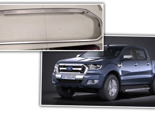 Ta en snuskig på den nya Ford Ranger's Grille Shape