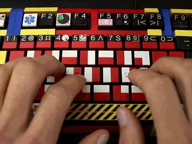 Tilpasning af et arbejdslego-mekanisk tastatur er utroligt nemt