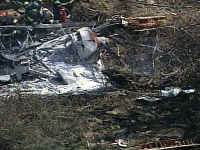 En død i liten flyulykke i nærheten av Pittsburgh
