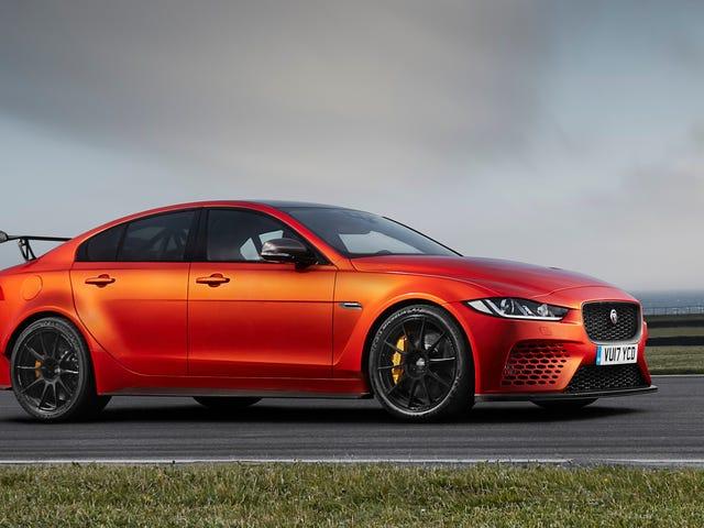 Holy Shit Jaguar's 596 Horsepower 200 MPH XE Costs $192,000 (Updated)