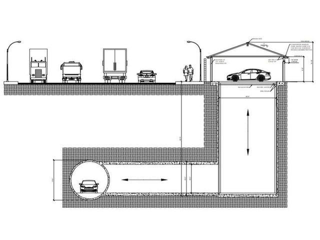 Elon Musk lijkt een soort van Batcave onder Los Angeles te bouwen