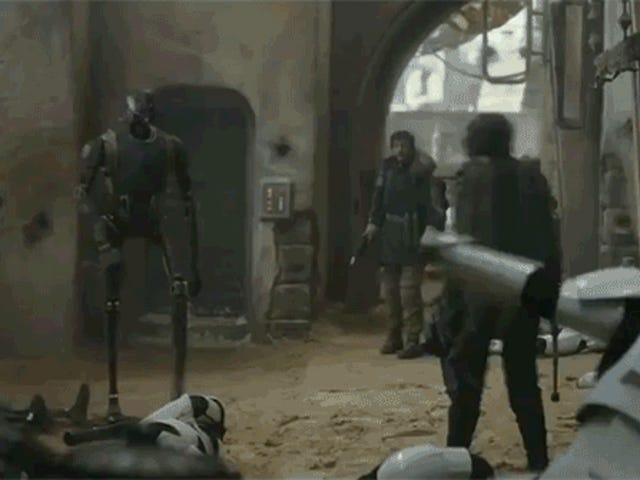 K-2SO Mencuri Tunjukkan dalam Trailer <i>Rogue One</i> terkini