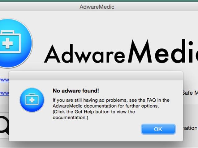 Adware Medic Removes Macintosh Adware
