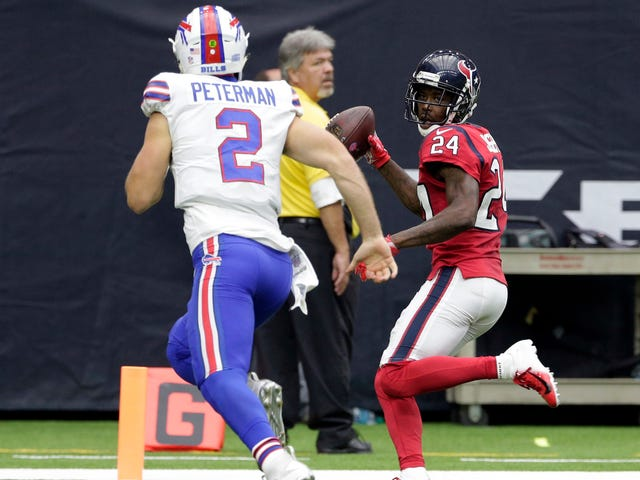 Poor Nathan Peterman Reaches New Low With Brutal Game-Ending Pick-Six