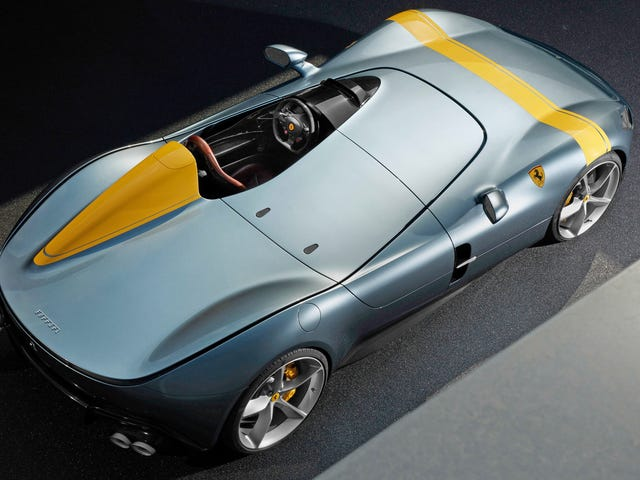 Ferrari's One-Seat Monza SP1 Looks Absolutely Amazing