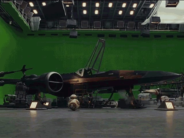 The Last Jedi VFX Breakdown Reveals the Work of ILM's VFX Masters