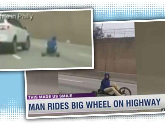 'Bajingan Itu Berada Di Atas 76 Di Atas Sialan Roda Besar'